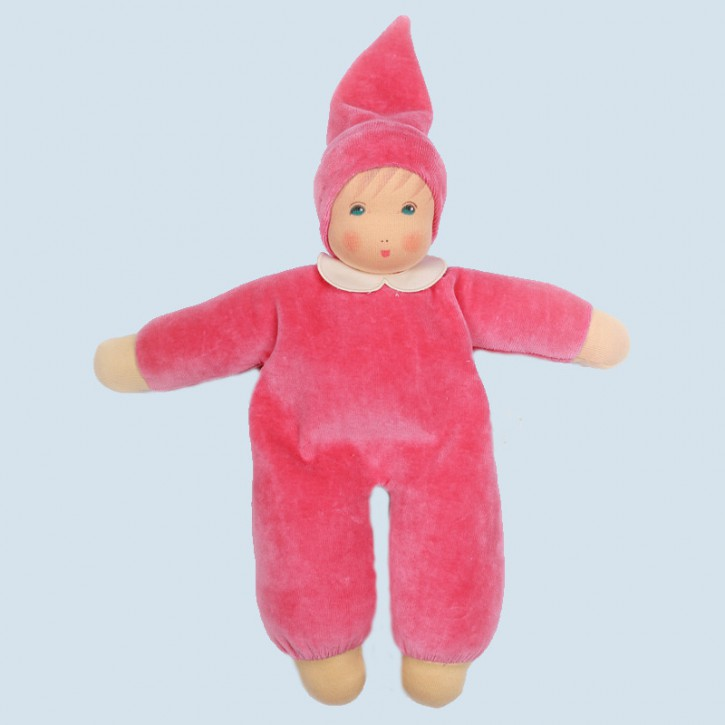 Nanchen doll - Nani pink - organic cotton, eco