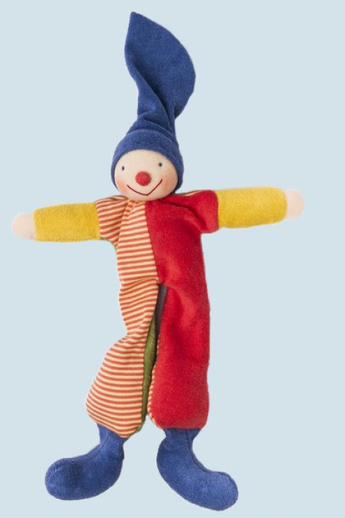 Nanchen Doll - Kasper - colorful, organic cotton, eco