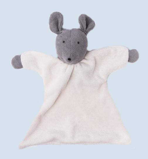Nanchen Puppe - Nuckeltuch Maus - Bio Baumwolle, öko