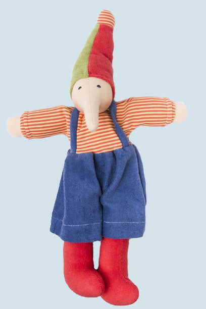 Nanchen Doll - Pinnochio - colorful - organic cotton