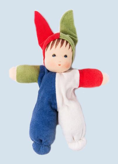 Nanchen Puppe - Spaßmacher - groß, Bio Baumwolle, öko