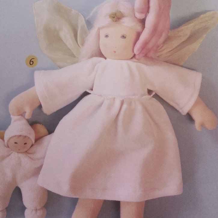 Nanchen doll - christmas angel - organic cotton, eco