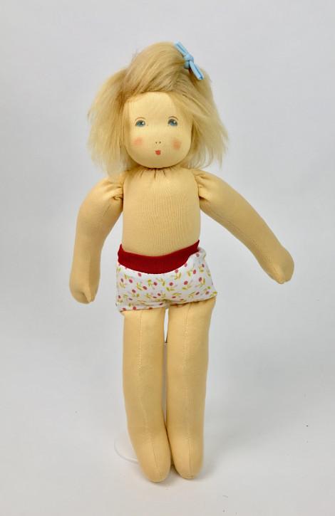 Nanchen Puppe - Anziehpuppe Katharina, Bio Baumwolle