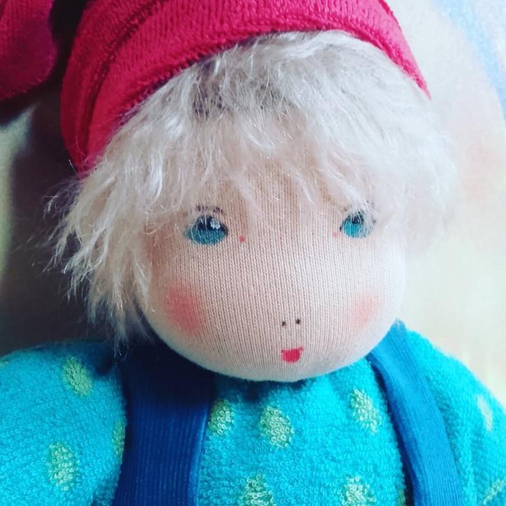 Nanchen organic doll - Ronja - green, eco