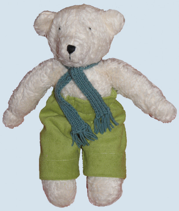 Nanchen organic doll - bear father - white, organic cotton