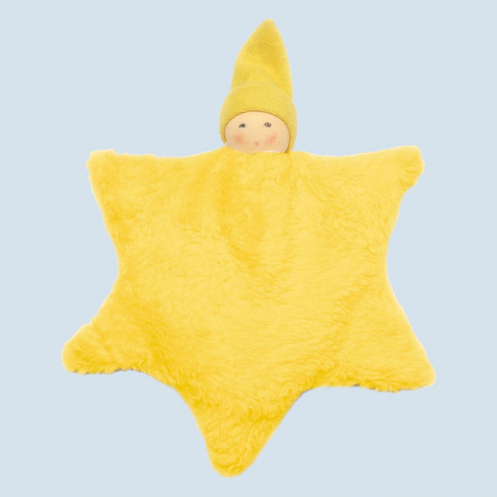 Nanchen pillow for children - Star - organic cotton, eco