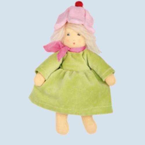 Nanchen Puppe - Flocke Blümchen - Bio Baumwolle