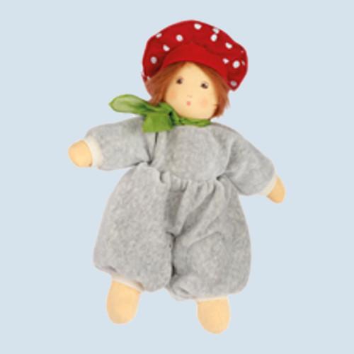 Nanchen Puppe - Flocke Pilzchen - Bio Baumwolle