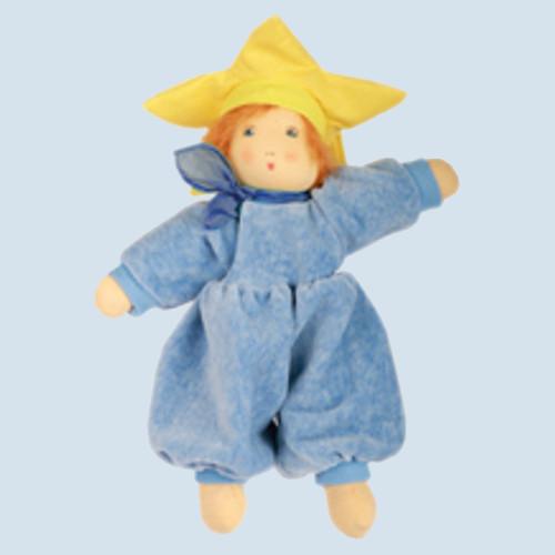 Nanchen Puppe - Flocke Sternchen - Bio Baumwolle