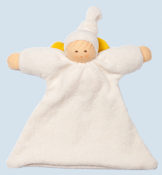 Nanchen doll - comforter guardian angel - organic cotton, eco