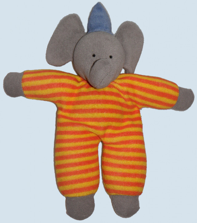 Nanchen - organic soft toy - elephant - Babo - eco