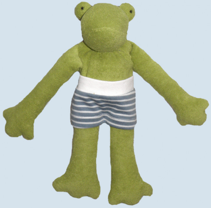 Nanchen organic doll - Frog Pia - organic cotton, eco