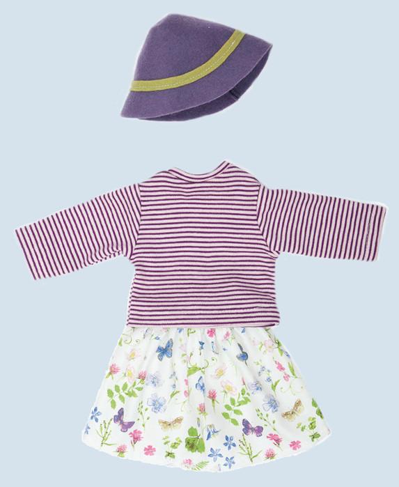 Nanchen Puppenkleidung - Gärtnerin - Bio Baumwolle