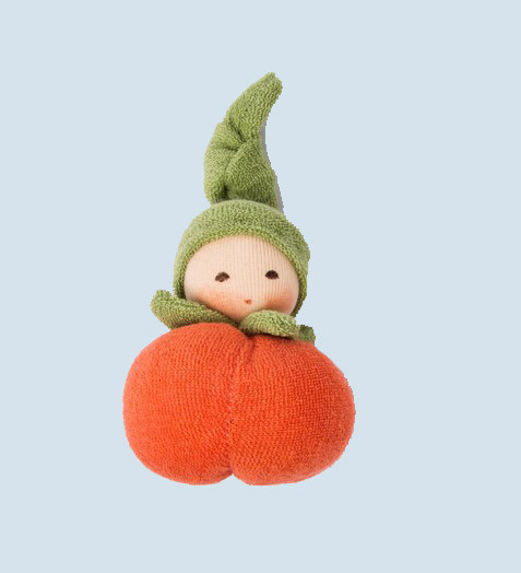 Nanchen - organic soft doll - Pumpkin