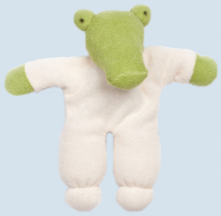Nanchen cuddly animal - Crocodile - organic, eco