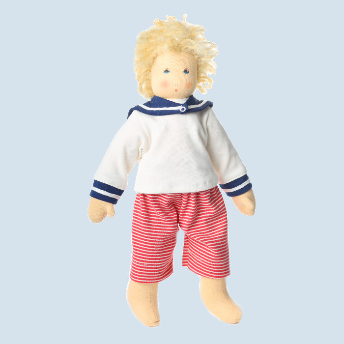 Nanchen doll - Lasse - organic cotton, eco