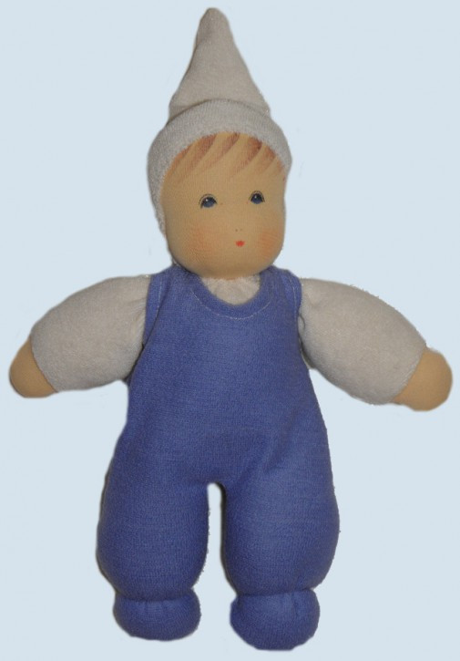 Nanchen organic doll - my darling - blue