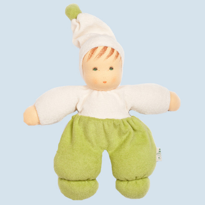 Nanchen eco doll - Mopsi - green - organic