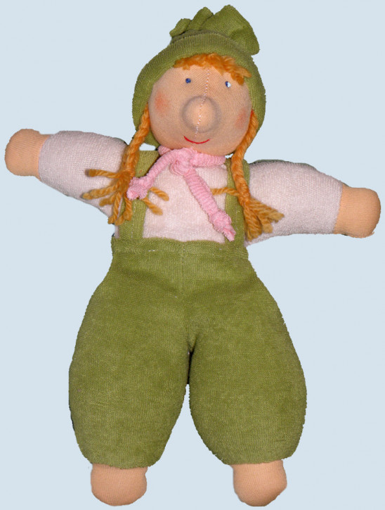 Nanchen Doll - Troll Paula, organic cotton