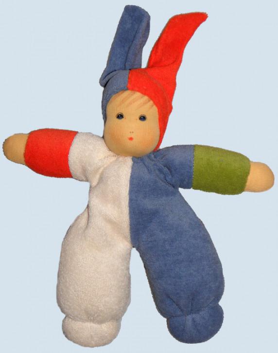 Nanchen Puppe - Spaßmacher - klein, Bio Baumwolle, öko