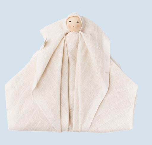 Nanchen Doll - Windula - nature - organic cotton
