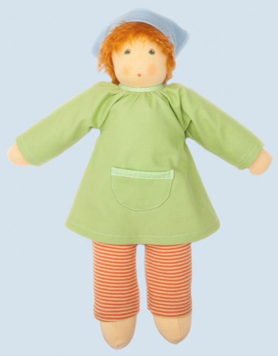 Nanchen doll - Wonne child Nina - organic cotton