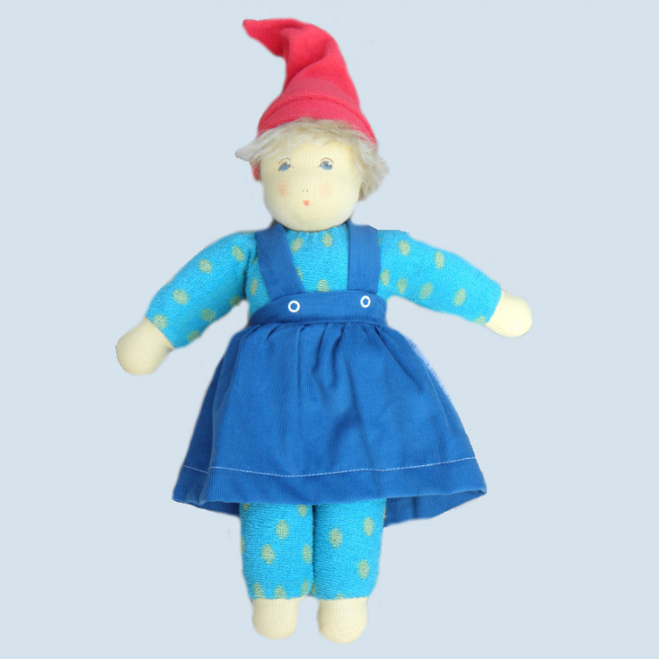 Nanchen organic doll - Ronja - green, cotton