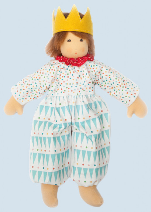 Nanchen doll - prince - organic cotton, eco