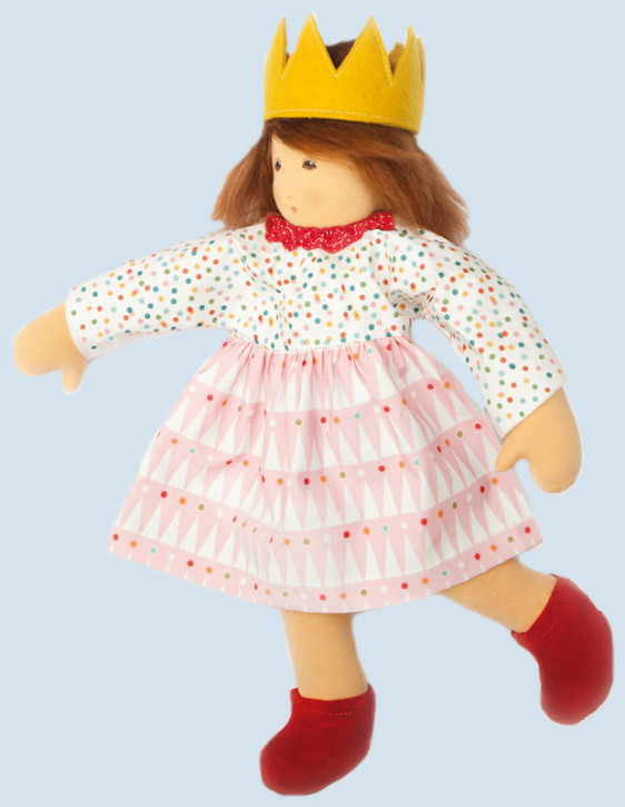 Nanchen doll - princess - organic cotton, eco