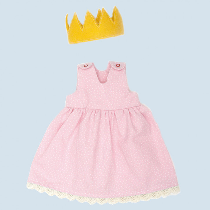 Nanchen doll clothing set - princess - organic cotton, eco