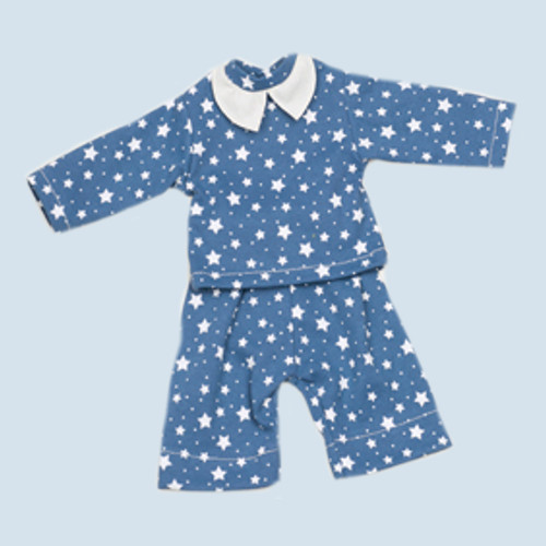 Nanchen doll clothing set - pyjama - organic cotton, eco