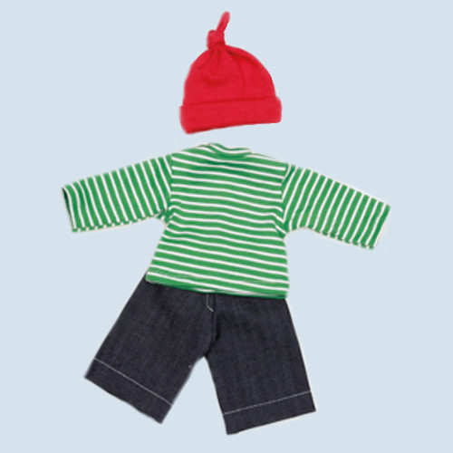 Nanchen doll clothing set - dwarf - organic cotton, eco