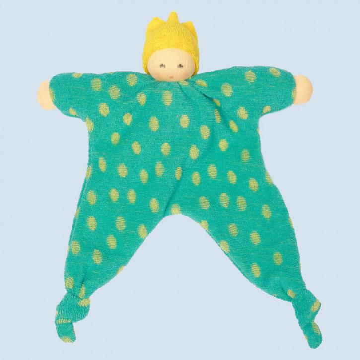 Nanchen Puppe - Schmusetuch Prinz, Bio Baumwolle, öko