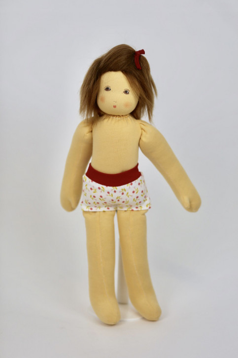 Nanchen eco dress up doll - Johanna - organic cotton, eco