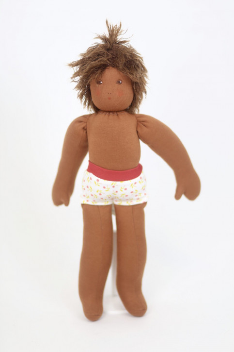 Nanchen doll - Pauline - without clothes - organic cotton