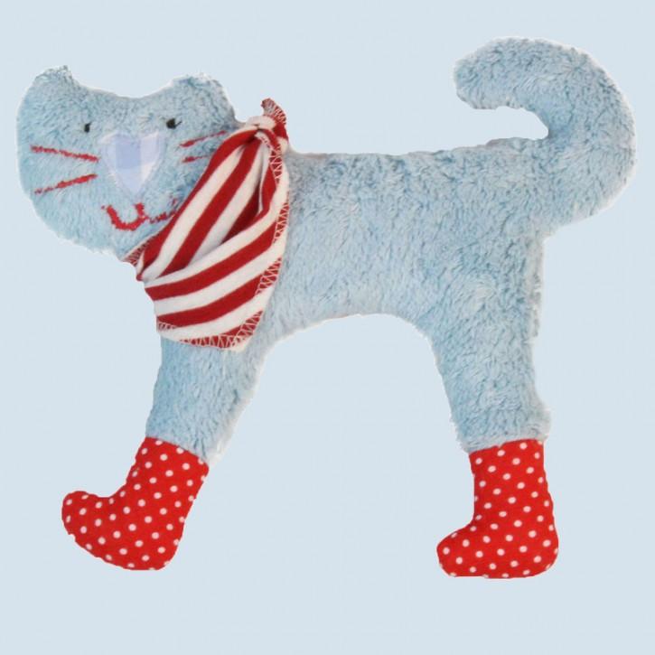 Pat & Patty - Baby Greifling Katze - Bio Baumwolle, mit Rassel