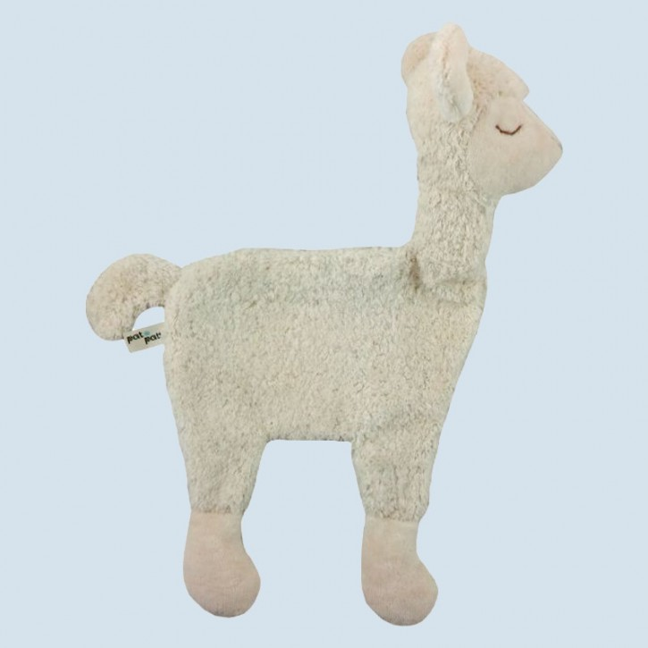 Pat & Patty Kirschkernkissen - Alpaka - weiß, Baumwolle Bio Qualität