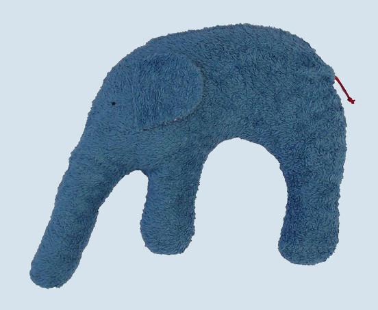 Pat & Patty Nackenkissen Elefant - Baumwolle, Bio Qualität, petrol