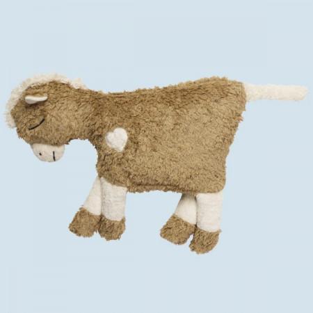 Pat & Patty Kuschelkissen Pferd - braun, Baumwolle Bio Qualität
