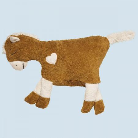 Pat & Patty Kuschelkissen Pferd - messing, Baumwolle Bio Qualität