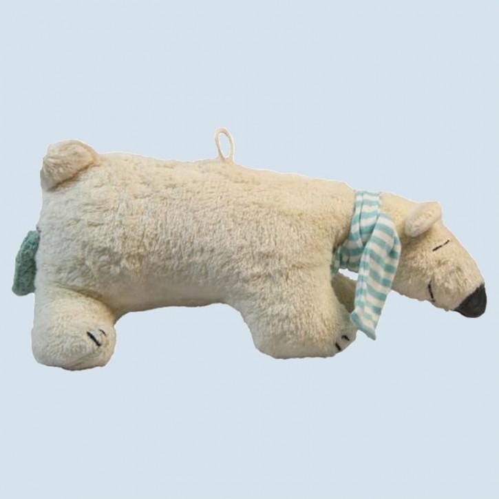 Pat & Patty Spieluhr Eisbär - Bio Baumwolle