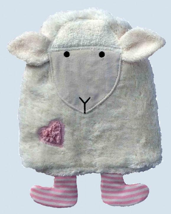 Pat & Patty Kirschkernkissen - Schaf - pink, Baumwolle Bio Qualität