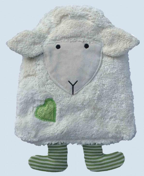 Pat & Patty Kirschkernkissen - Schaf - grün, Baumwolle Bio Qualität