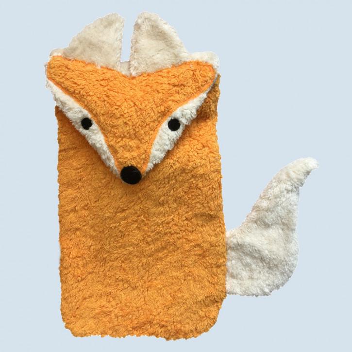 Pat & Patty Wärmflasche für Kinder - Fuchs - Baumwolle, Bio Qualität