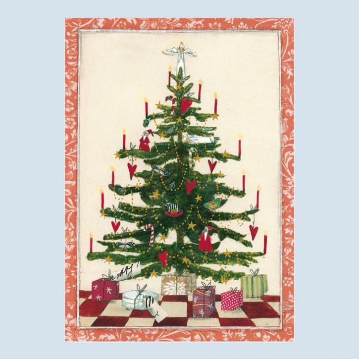 Grätz Verlag - Weihnachtspostkarte - Weihnachtsbaum