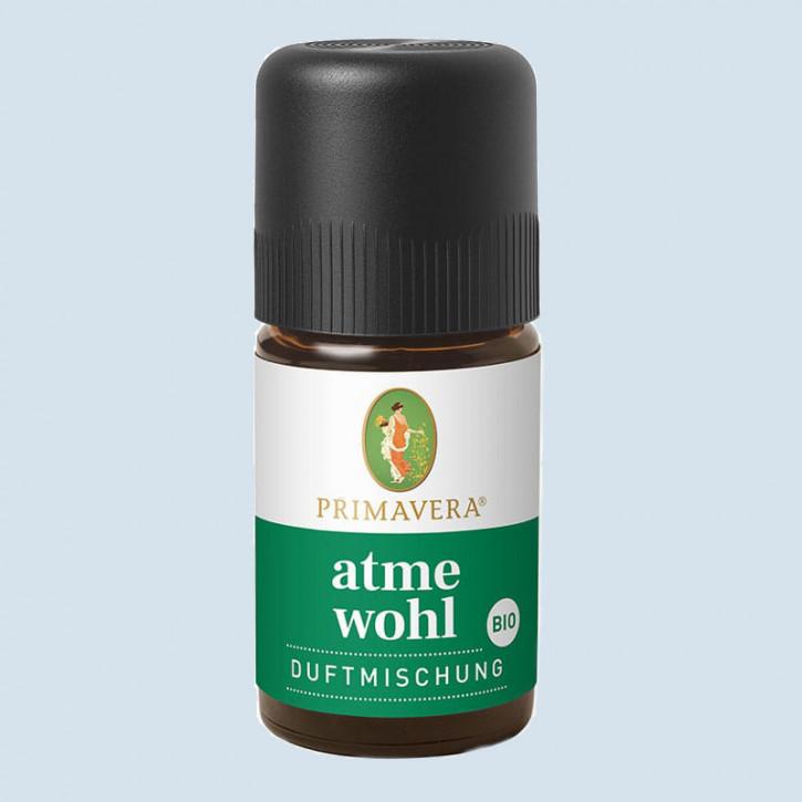 Primavera - Bio Duftmischung atme wohl - 5 ml