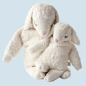Senger Naturwelt - Kuscheltier Schaf - Bio Baumwolle, groß