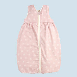 lana babyschlafsack hilde pl sch rosa 80 cm baumwolle bio qualit t. Black Bedroom Furniture Sets. Home Design Ideas