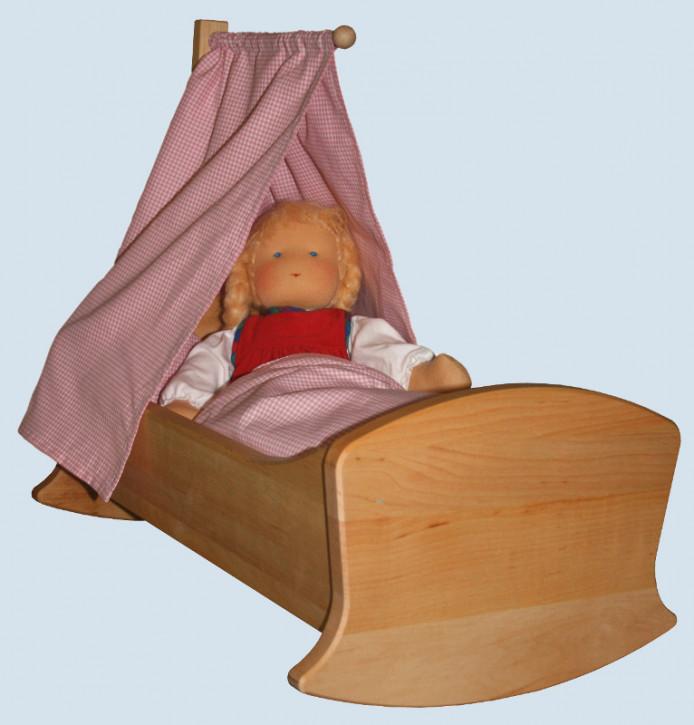 Schoellner - wooden furniture for dolls - cradle