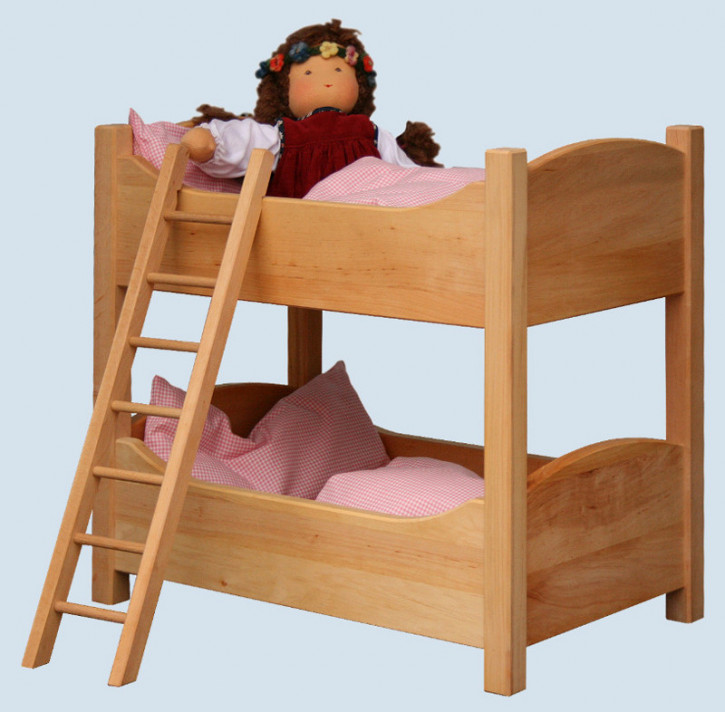 Schoellner - wooden furniture for dolls - bunk bed